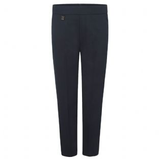 Beehive Boys Trousers Half Elastic Pull Up